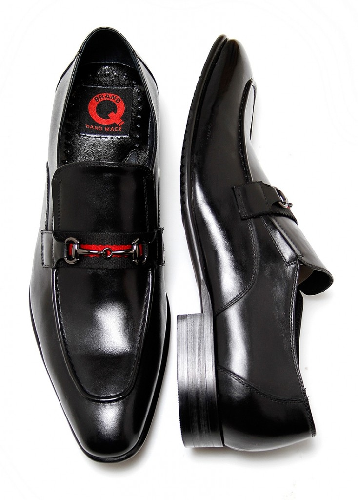 Brand Q Black Gucci Buckle Shoes